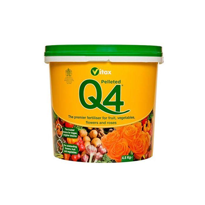 Vitax Q4 4.5KG Tub