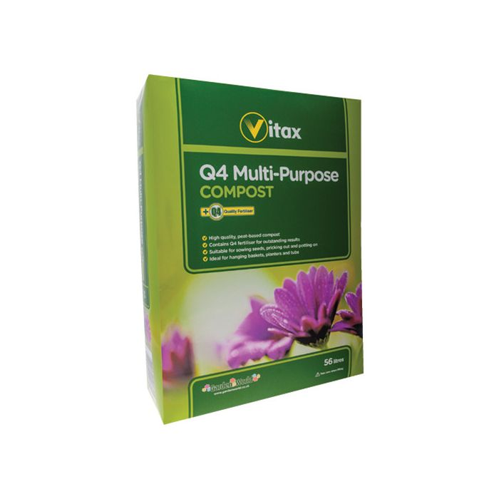 Vitax Q4 Multi Purpose Compost 56 Litres