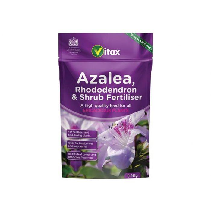 Vitax Azalea, Rhododendron & Shrub 0.9kg Pouch