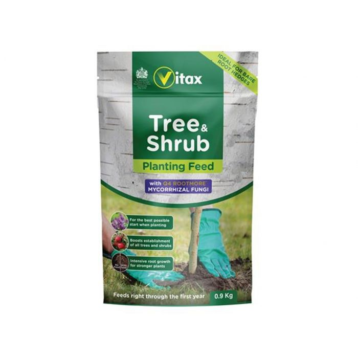 Vitax Tree, Shrub Planting Fertiliser 0.9G Pouch